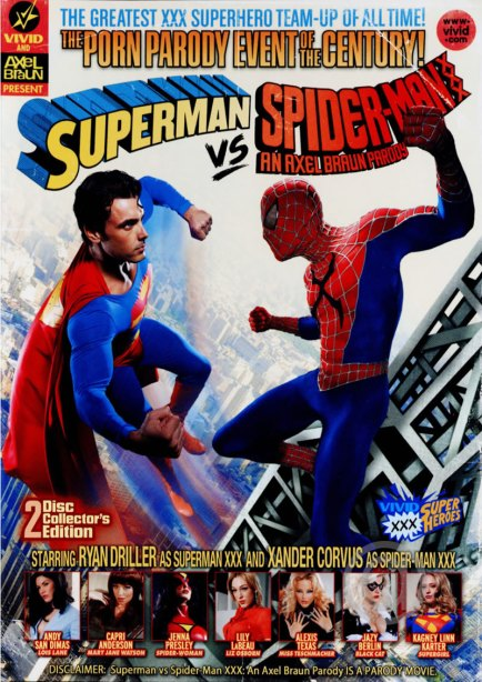 Superman vs Spiderman