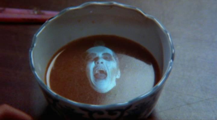 una cara horrible en mi sopa