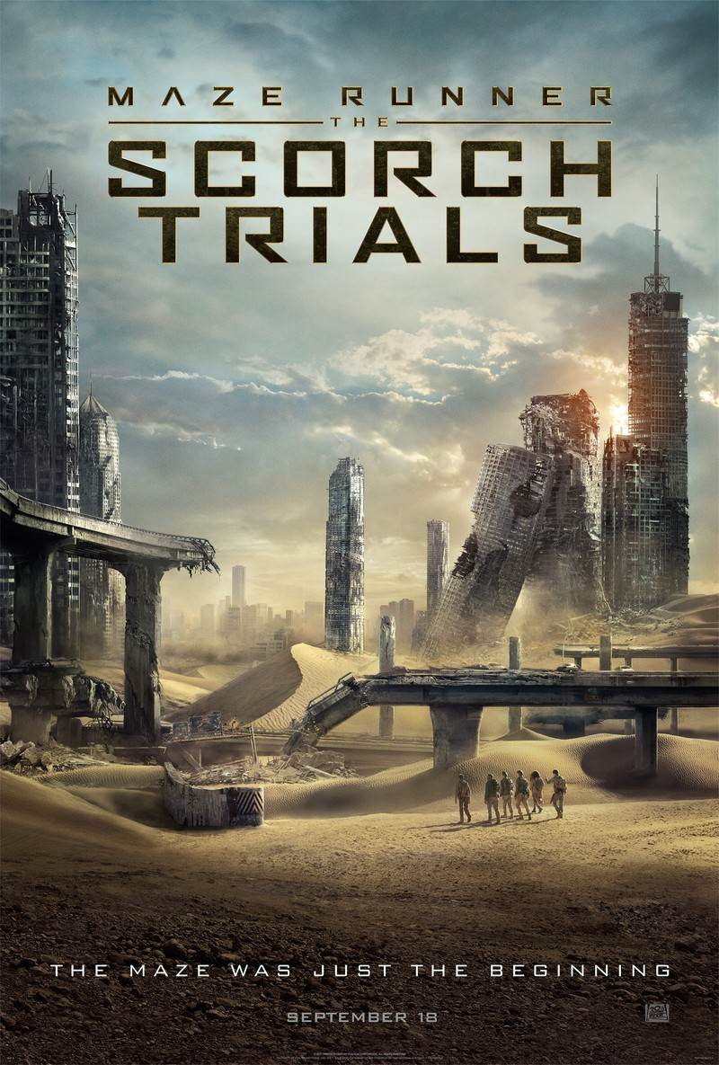 Maze Runner 2 Scorch Trials