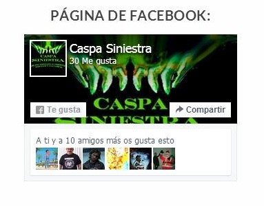 Captura Caspa Fanpage FB
