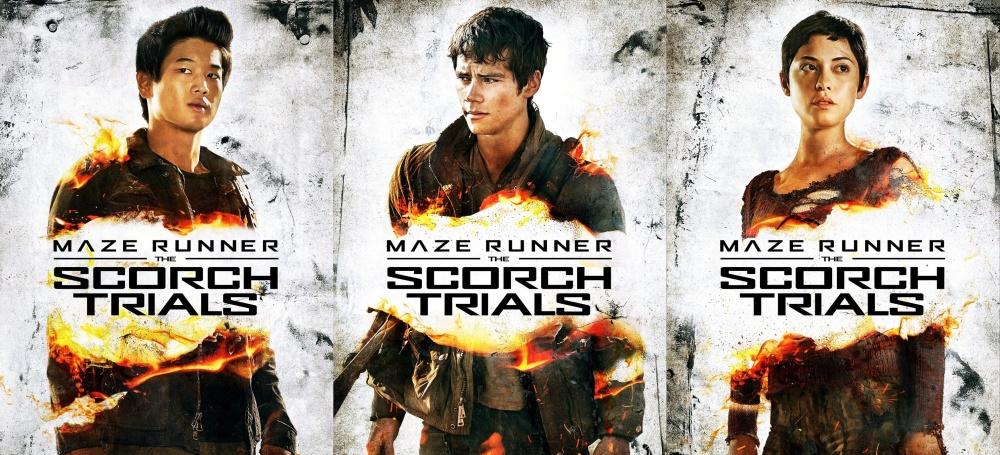Maze Runner 2 Afiches