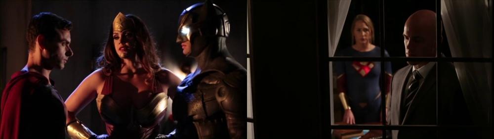 Batman Wonder Woman Superman Montaje