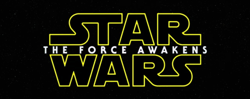 Star Wars The Force Awakens Title