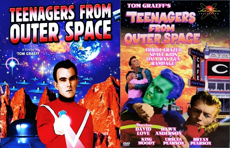 Teenagers From Outer Space DD