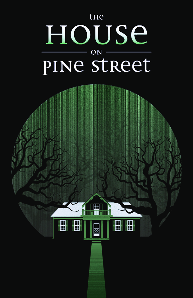 house on pine street art poster