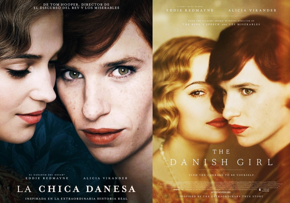 Chica Danesa Doble Poster