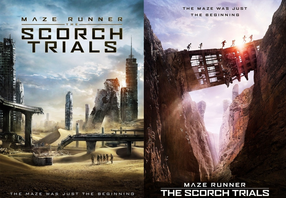 Maze Runner 2 Scorch Trials Double