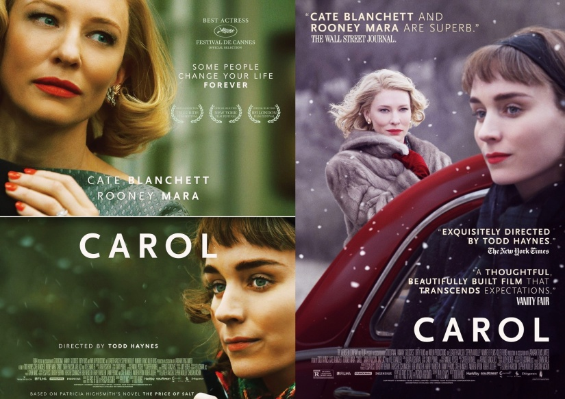 Carol Double Poster