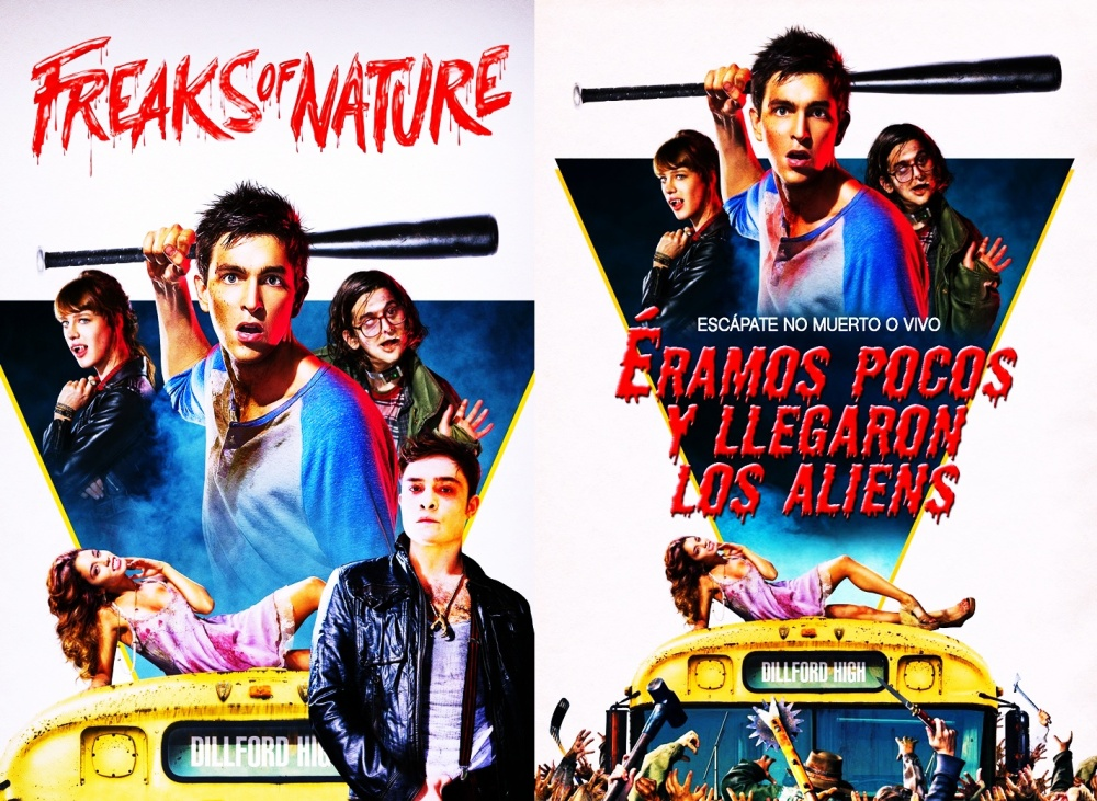 Freaks of Nature Double Poster