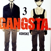 RESEÑA MANGA: GANGSTA - VOL.3